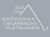 Bröderna Oscarssons Plåtslageri logo