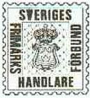 Sveriges Frimärkshandlareförbund logo
