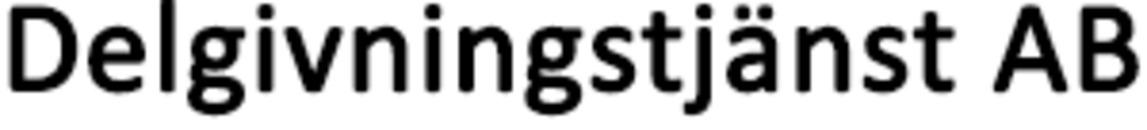 Delgivningstjänst FJ AB logo