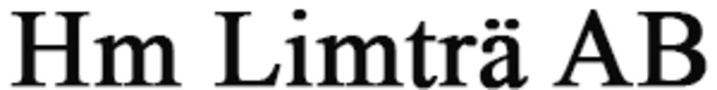 Hm Limträ, AB logo