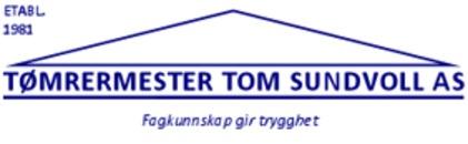 Tømrermester Tom Sundvoll AS logo