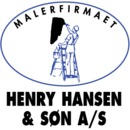 Malerfirmaet Henry Hansen & Søn A/S logo
