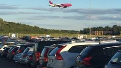 parkering nyköping flygplats
