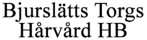 Bjurslätts Torgs Hårvård logo