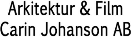 Arkitektur & Film Carin Johanson AB logo