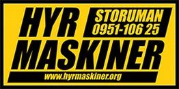 Hyr Maskiner i Storuman AB logo
