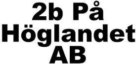 2b På Höglandet AB logo