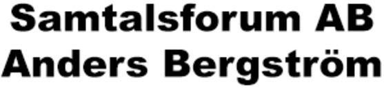 Samtalsforum AB, Anders Bergström logo