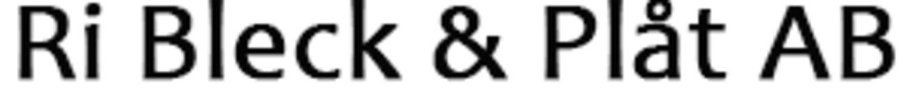 Ri Bleck & Plåt AB logo