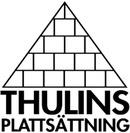 Thulins Plattsättning logo