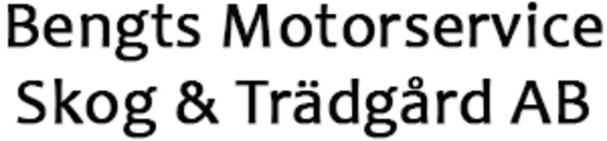 Bengts Motorservice Skog & Trädgård AB logo