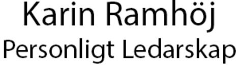 Karin Ramhöj, Personligt Ledarskap logo