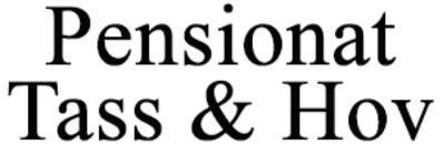 Pensionat Tass & Hov logo