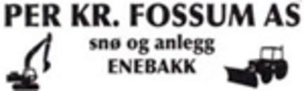 Per Kr Fossum Snø og Anlegg Enebakk AS logo