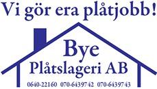Bye Plåtslageri AB logo
