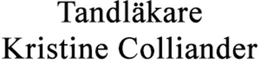 Tandläkare Kristine Colliander logo