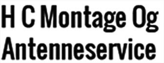 H C Montage og Antenneservice logo