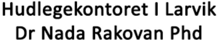 Hudlegekontoret I Larvik Dr Nada Rakovan Phd logo