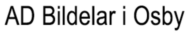 AD Bildelar i Osby logo