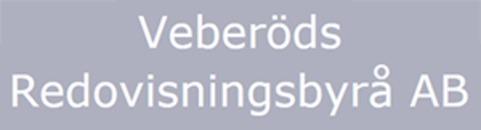 Veberöds Redovisningsbyrå logo