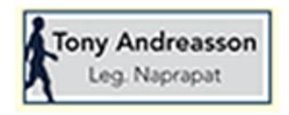 Blåhusets Naprapatmottagning Tony Andreasson logo