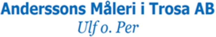 Anderssons Måleri i Trosa AB, Ulf & Per logo
