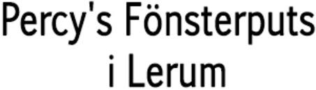 Percy's Fönsterputs i Lerum logo