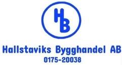 Hallstaviks Bygghandel AB logo