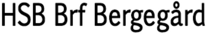 HSB Brf Bergegård logo