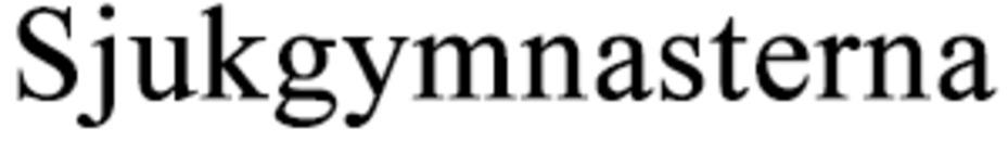 Sjukgymnasterna logo