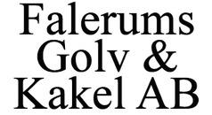 Falerums Golv & Kakel AB logo
