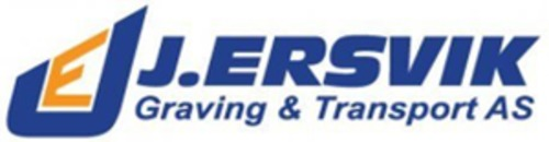 J Ersvik Graving og Transport AS logo