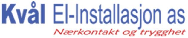 Kvål El-installasjon A/S logo