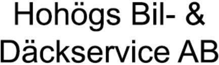 Hohögs Bil- & Däckservice AB logo
