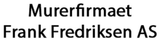 Murerfirma Frank Fredriksen AS logo