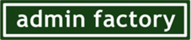 Admin Factory Redovisningsbyrå logo