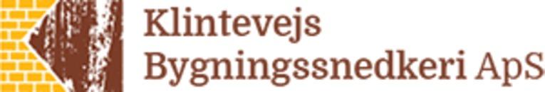 Klintevejs Bygningssnedkeri ApS logo