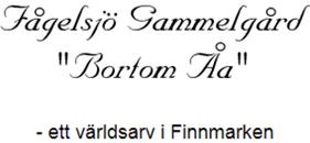 Fågelsjö Gammelgård Bortom Åa logo