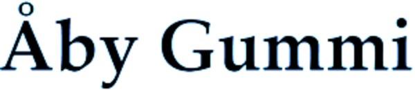 Åby Gummi logo