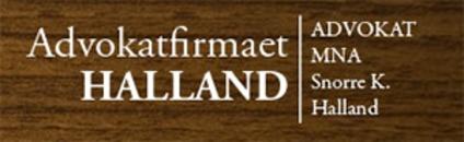 Advokatfirmaet Halland Advokat Snorre K Halland logo
