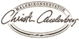 Målerikonservator Christin Anderberg logo
