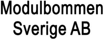 Modulbommen Sverige AB logo
