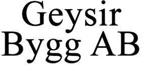 Geysir Bygg AB logo