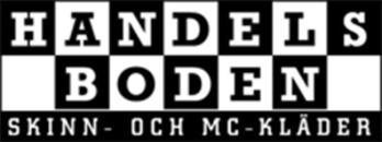 Handelsboden Skinn- & MC-Kläder Stockholm logo