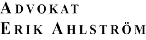 Advokat Erik Ahlström logo