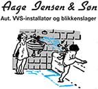 Aage Jensen & Søn logo