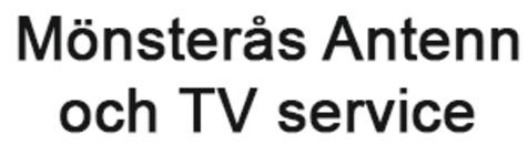 Mönsterås Antenn och TV Service logo