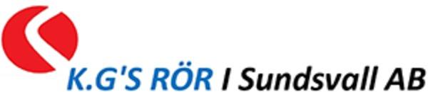 K.G's Rör i Sundsvall AB logo