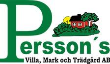 H Perssons Villa, Mark & Trädgård AB logo
