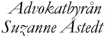 Advokatbyrån Suzanne Åstedt logo